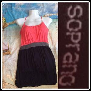Soprano spaghetti strap Summer dress